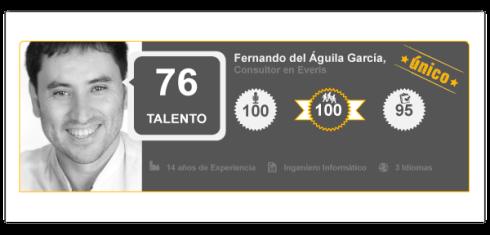 Perfil de Talento Fernando del Águila